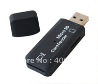 Wholesale USB Cell Phone SIM Card TF Micro SD Reader GSM CDMA