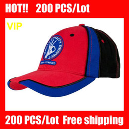 Wholesale VIP HOT COOL Red Black Red Black Baseball Cap caps Red Baseball hat hats