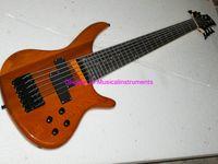 Wholesale Bass Guitar Natural Strings Electric Bass Guitar Top High Bass