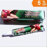 Wholesale New Free EMS Shipping Indian Henna Tattoo Paste Tube Cone Body Art Temporary