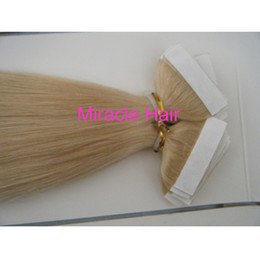 Wholesale 100g quot quot quot quot Glue Skin Weft Tape in Hair Extensions Indian Human hair