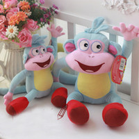 Wholesale New High Quality Soft Plush Dora the Explorer BOOTS The Monkey Plush Dolls Toy New