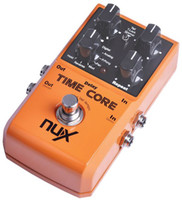 Wholesale NUX Stomp Boxes Effect Pedal Time Core Up to Delay Models Including Analog Tape Reverse etc