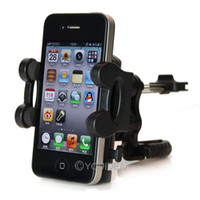 Wholesale 1 rotation car air vent mount holder multi drection stand for phone mp4 pda gps
