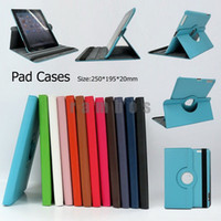 "Folding Folio Case 9.7'' For Apple 360 Rotating Retina PU Leather Case Skin Cover Stand Wake Sleep for ipad 2 3 4 9.7"" Tablet PC"
