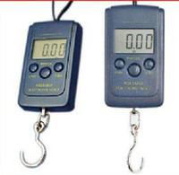 Digital scale China (Mainland) Square Portable Electronic Hanging Scale Up to 40Kg 40kg 88lb 1,410oz Digital Weight Fishing Hangin MYY1401