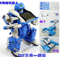 Wholesale New in Solar Kits Solar Robot DIY Toy Educational DIY Toy
