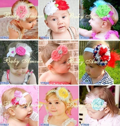 New!10pcs Baby Girl Toddler Infant Elastic Flower Headband Child Hair Accessories Headwear Hair Band