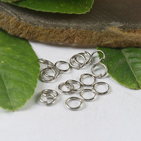 Wholesale 500Pcs mm Nickel tone Jump Rings H0426
