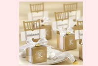 Wholesale Hot Sale Features Chair Wedding Favor Candy Boxes Wedding Party Gift Box
