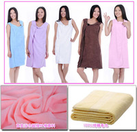 Wholesale Magic Bath Towel Couple Bathrobe Pajamas Bath Skirt