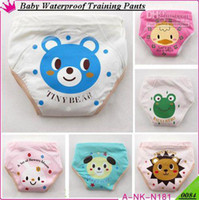Wholesale 2013 Hot New Baby Minky Waterproof Potty Training Pants Reusable Infant Learning Pants