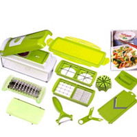 Nicer Dicer plus Plastic Stocked Nicer Dicer plus high quality Hot Sale Vegetable Nicer Dicer Plus Multi-Chopper Fruit Slicer Food Slice