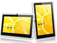 Android 4.0 tablets - 7 inch Allwinner A33 quad core Android Tablet pc capacitive Q88 dual camera MB GB colors