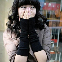 Wholesale Trendy Elegant Ladies Long Arm Fingerless Gloves Warmer Worldwide