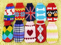 Wholesale Hot Sale Pet winter coat pet sweaters dog sweater dog clothes pet cloth