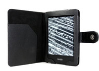 Wholesale PU leather case Book Stylish Folio Stand Cover for Amazon kindle paperwhite