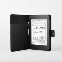 Wholesale PU leather case Book Style Folio Cover for Amazon kindle paperwhite Stand Holder