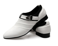 Wholesale Cool sexy charming Groom shoes men s wedding shoes leather shoes Prom shoes for bridegroom shoes