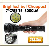 Wholesale Trustfire J18 TR J18 SUPER BRIGHT LED Flashlight LM CREE XML T6 High Power Torch