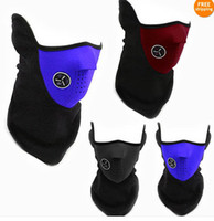Wholesale New Bike Motorcycle Ski Neck Warmer Face Mask Veil Cover Sport Snow Colors