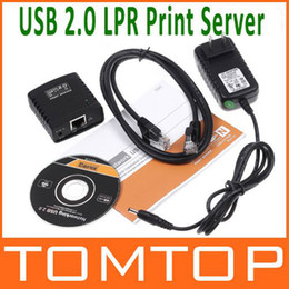 Wholesale Network USB LPR Print Server Hub Adapter Ethernet LAN Networking Share V343