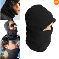 Wholesale NEW Black in1 warm full face cover winter ski mask Beanie POLICE SWAT SKI MASK