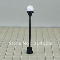 Wholesale T4 HO scale train layout model lamppost lamp Size MAX height cm or quot inch Current for each bulbs mA