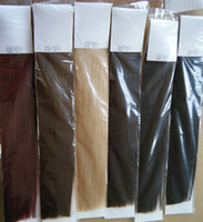 Wholesale 120g clip in hair extensions Indian Remy human hair quot quot quot