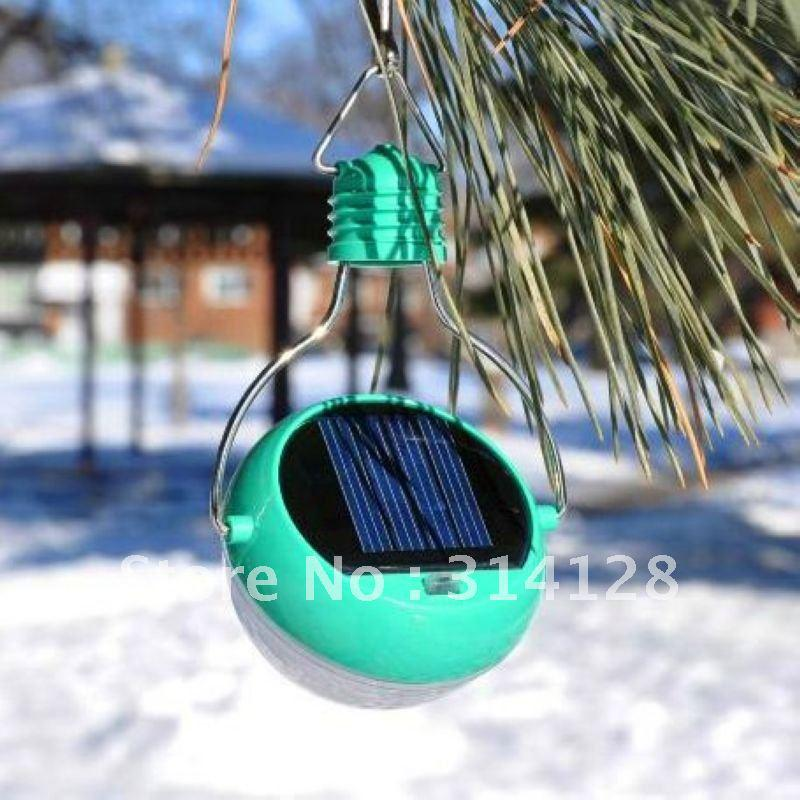 Wholesale Outdoor Portable LED solar hanging bulb/lamp/night light ...