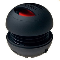 Wholesale 2013 New Arrive Hamburger Portable X Mini Speaker Mini Amplifier Loudspeaker black red white color
