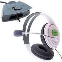 Wholesale Headset Headphone W Mic Microphone For Microsoft Xbox For Xbox Wireless Controller As Telephone