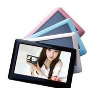 Wholesale 4pcs T13 inch GB GB MP4 MP5 Player P Movie Built in Loud Speaker TV out FM Ebook MGXA067