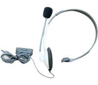 Wholesale New HEADSET W MIC MICROPHONE FOR GAME XBOX360 XBOX LIVE