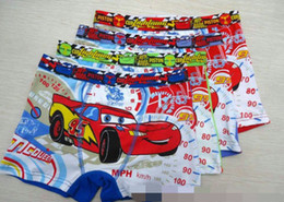 Wholesale baby boys cars cartoon short pants mix color cotton underwears children pants