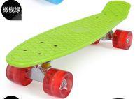 "Cheap Free shipping PENNY ""Nickel"" Original Style Plastic Skateboard Crusier 22""Black christmas gift board"