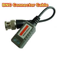Wholesale Mini CCTV Camera Passive Video Balun BNC Connector Cat5 UTP Coaxial Cable