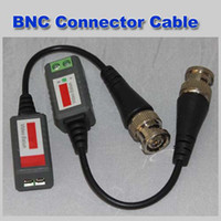 Wholesale Mini CCTV Camera Passive Video Balun BNC Connector Cat5 UTP Coaxial Cable
