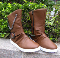 cowboy boots - Korean male boots boots boots boots trend in cowboy boots and snow boots