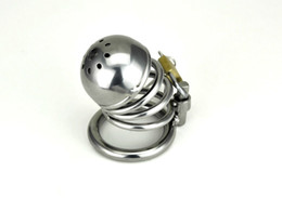 Wholesale Stainless steel Male Boundage chastity medium sized Cage Gimp New Style
