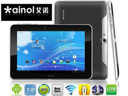 Wholesale 2pcs Ainol Novo Fire Frame inch IPS Android Tablet PC GB Bluetooth Dual Core GHz MP