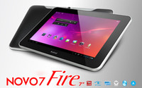 Wholesale 3pcs Ainol Novo Fire Frame inch IPS Android Tablet PC Cortex A9 GB Bluetooth Dual Core