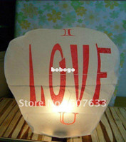 Wholesale Factory Direct pieces kong ming deng Flying Sky Lanterns For Wedding Promotional Gift white