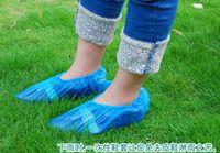 Wholesale 3000PCS disposable shoe covers one time plastic PVC shoe cover once off antiskid