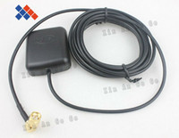 Wholesale Car GPS antenna with M cable SMA male angle connector