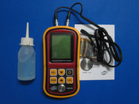 Wholesale GM100 Ultrasonic Wall Thickness Gauge Meter Tester Steel PVC Digital Testing O332