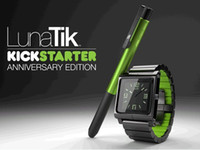 Yes Metal For iPod Nano all metal aluminum material LunaTik Lynk Watch Kits Band luna tik Wrist Strap Case For iPod Nano 6