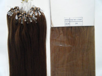 Wholesale 100g inch inch g s Indian remy human micro ring hair Loop hair extensions