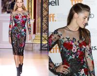 zuhair murad dress - kristen stewart and zuhair murad fall couture floral dress gallery Celebrity Evening Dresses Z