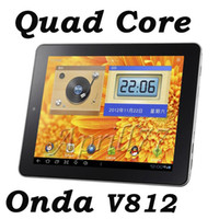 Wholesale Onda V812 Inch Tablet PC Allwinner A31 Quad Core G G Android GHz IPS Capacitive Mic G